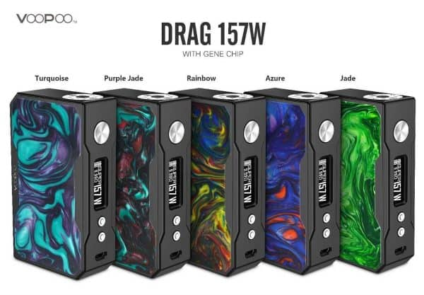 DRAGBLKRESIN 2 600x417 - Voopoo Drag Resin 157W