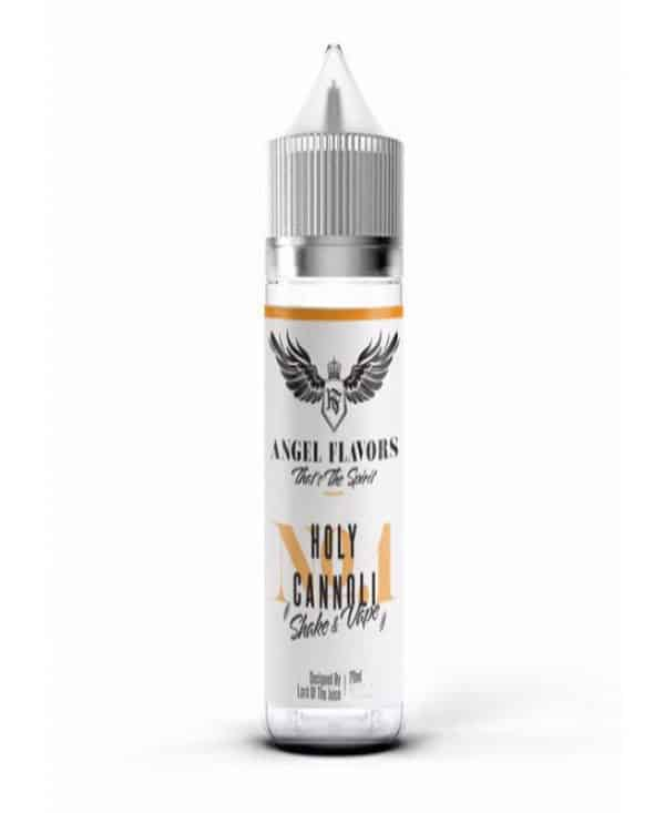 holy cannoli angel flavors shake and vape egoist vapexperts 30ml 600x733 - Angel Holy Cannoli 6ml  Holy Cannoli Flavor