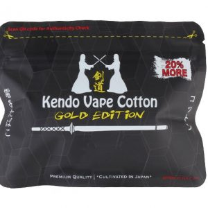 Kendo Vape Cotton (Gold Edition)