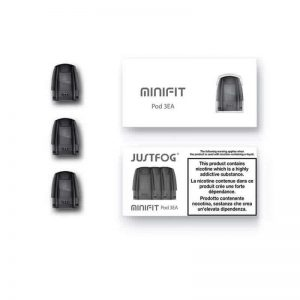 justfogMinifit Kit 4 300x300 - JUSTFOG MINIFIT Replacement Pod 1.5ml 1.6ohm Black