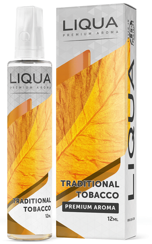 Liqua 12ml GR traditional tobacco 600x962 - Liqua Traditional Tobacco 12ml/60ml Bottle flavor