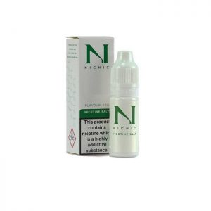 nicnic 10ml 20mg nicotine salt 5050 vgpg 300x300 - NICNIC 10ML- 20MG NICOTINE SALT 50/50 - VG/PG