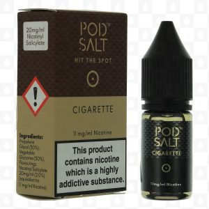 cigpodsalt 300x300 - Cigarette Nicotine Salt by Pod Salt E Liquid  10ml 20mg