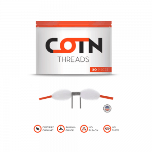 cotn wick  300x300 - Cotn Threads 20τμχ