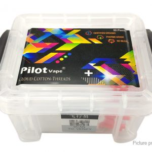 PILOT VAPE + COUD COTTON THREADS 50PCS