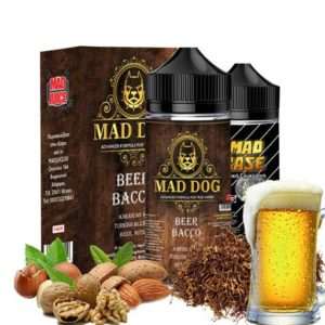 Mad Juice Mad Dog 20ml 100ml bottler Beer Bacco 300x300 - Mad Juice - Beer Bacco 20ml/100ml bottle flavor