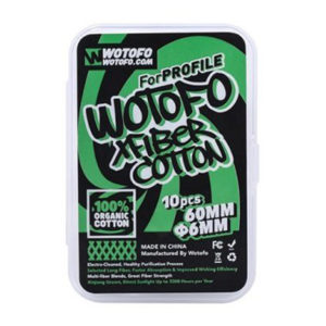 Coton Xfiber Profile Wotofo 300x300 - COTON XFIBER FOR PROFILE 10 ΤΕΜ. BY WOTOFO